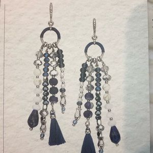 La Plage Tassel Earrings